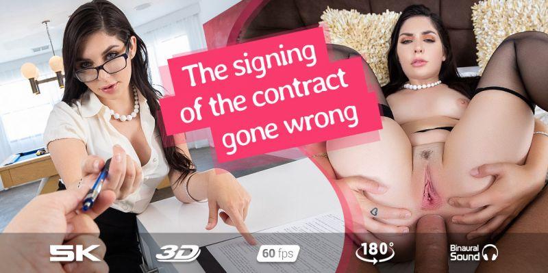 Slut Secretary feat. Keira Croft - VR Porn Video