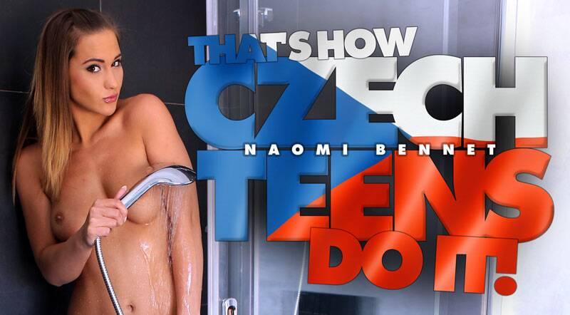 That's How Czech Teens Do It! feat. Naomi Bennet - VR Porn Video