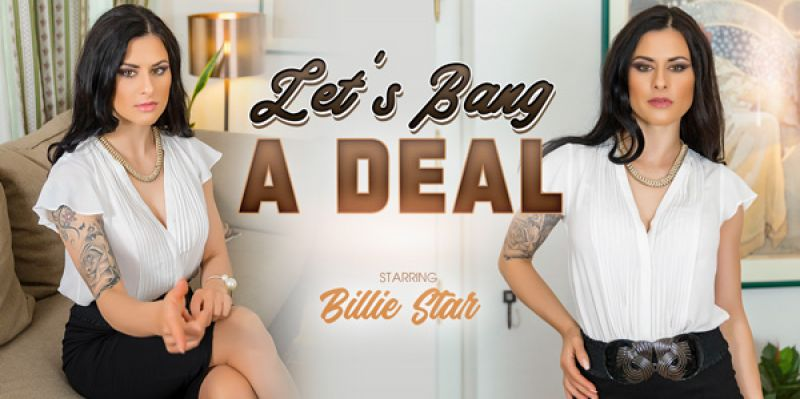 Let's Bang a Deal feat. Billie Star - VR Porn Video