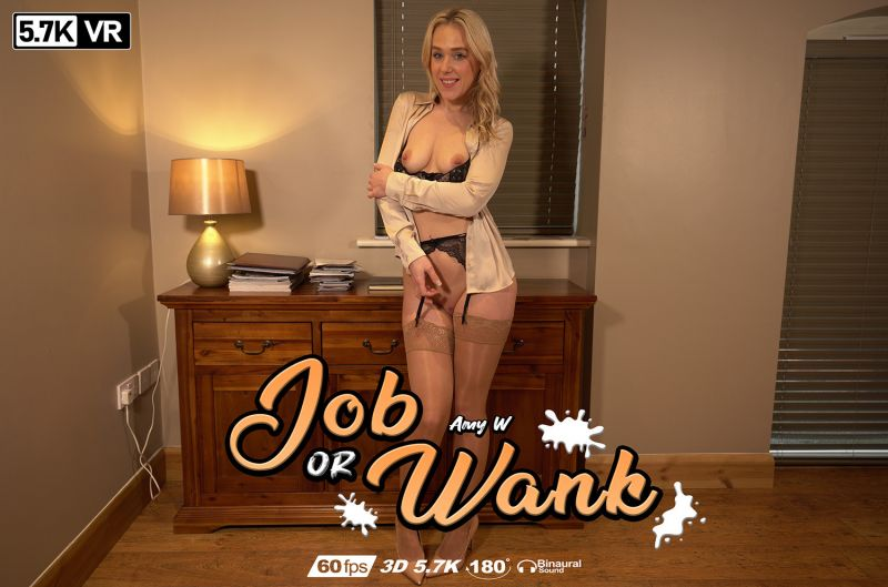 Job Or Wank feat. Amy W - VR Porn Video