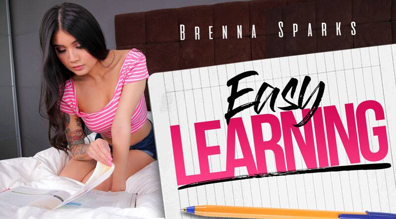Easy Learning feat. Brenna Sparks - VR Porn Video