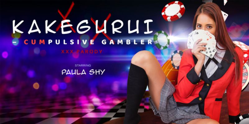 Kakegurui – CUMpulsive Gambler feat. Paula Shy - VR Porn Video