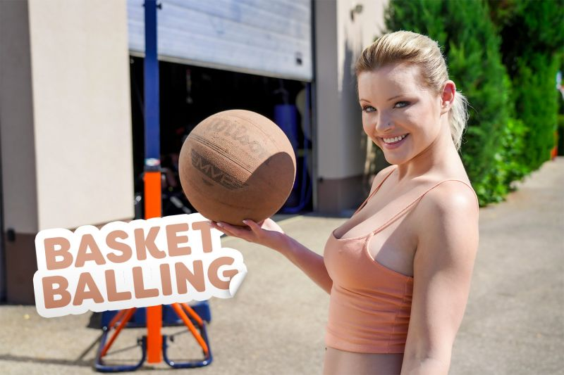 Basket Balling feat. Zazie Skymm - VR Porn Video