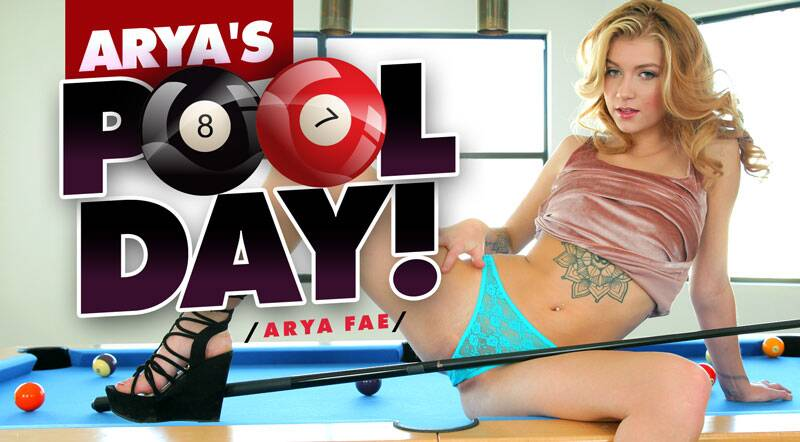 Arya's Pool Day feat. Arya Fae - VR Porn Video