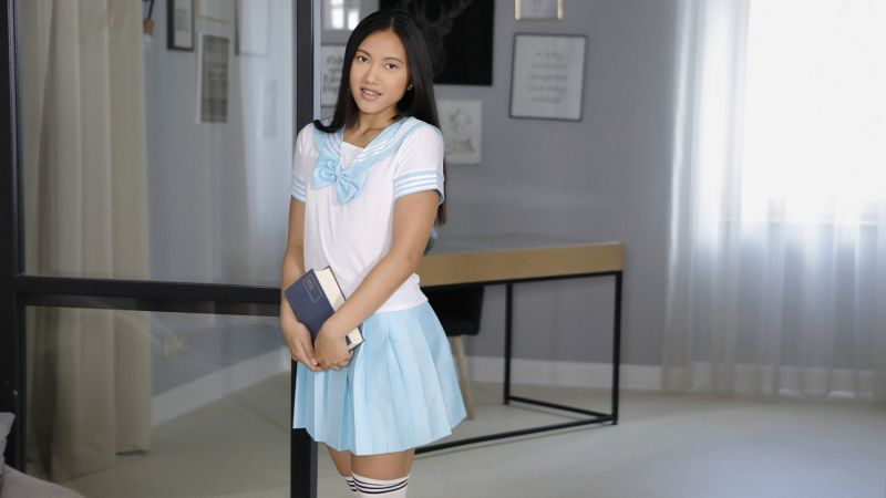 Schoolgirl Gone Bad feat. May Thai - VR Porn Video