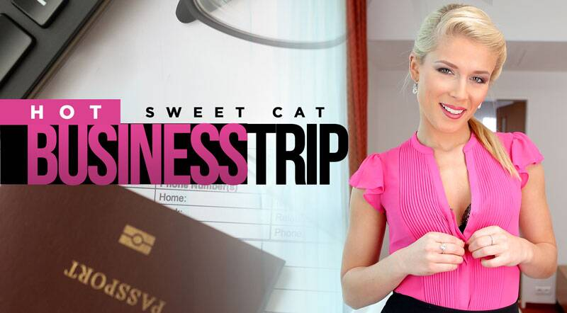Hot Business Trip feat. Sweet Cat - VR Porn Video