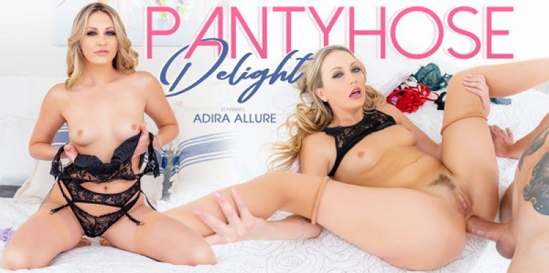 Pantyhose Delight feat. Adira Allure - VR Porn Video