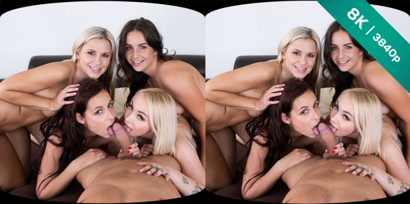 Party of Five feat. Antonia Sainz, Lenna Ross, Lola Myluv, Marilyn Sugar - VR Porn Video