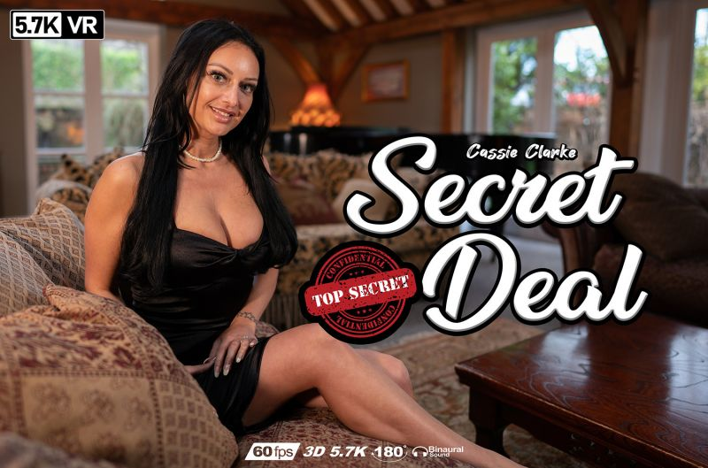 Secret Deal feat. Cassie Clarke - VR Porn Video