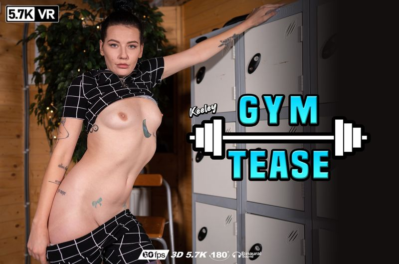 Gym Tease feat. Keeley - VR Porn Video