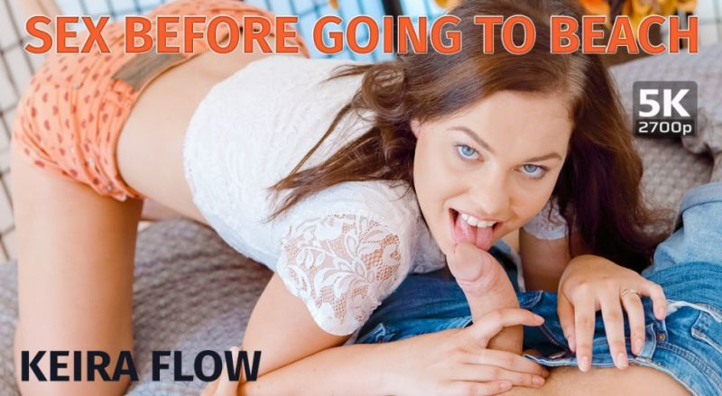 Sex Before Going To Beach feat. Keira Flow - VR Porn Video