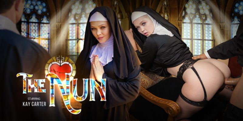 The Nun feat. Kay Carter - VR Porn Video