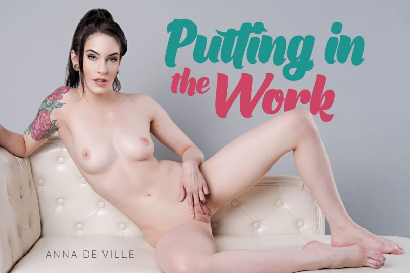 Putting In The Work feat. Anna De Ville - VR Porn Video