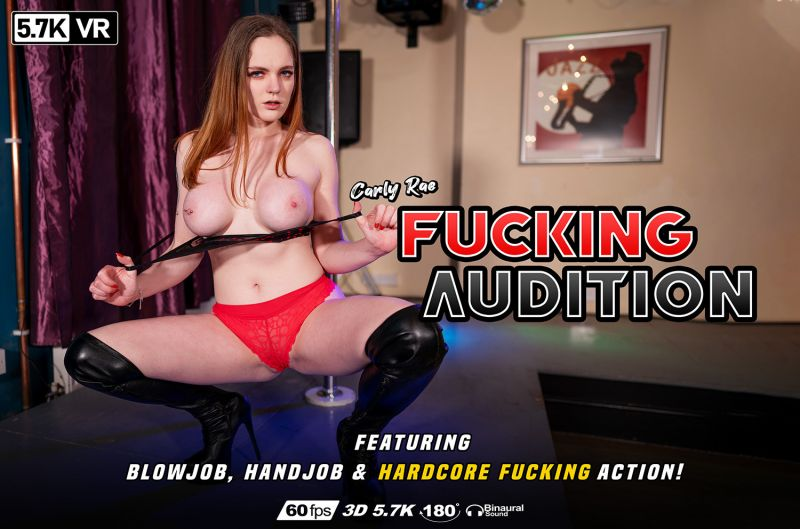 Fucking Audition feat. Carly Rae Summers - VR Porn Video