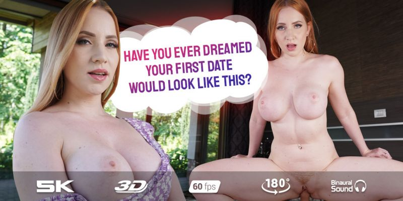 Dream First Date feat. Kiara Lord - VR Porn Video