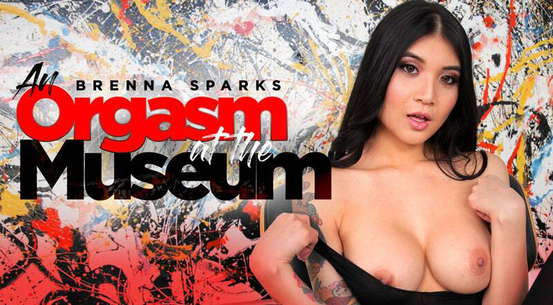 An Orgasm At The Museum feat. Brenna Sparks - VR Porn Video