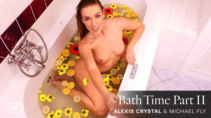 Bath Time Part II feat. Alexis Crystal - VR Porn Video