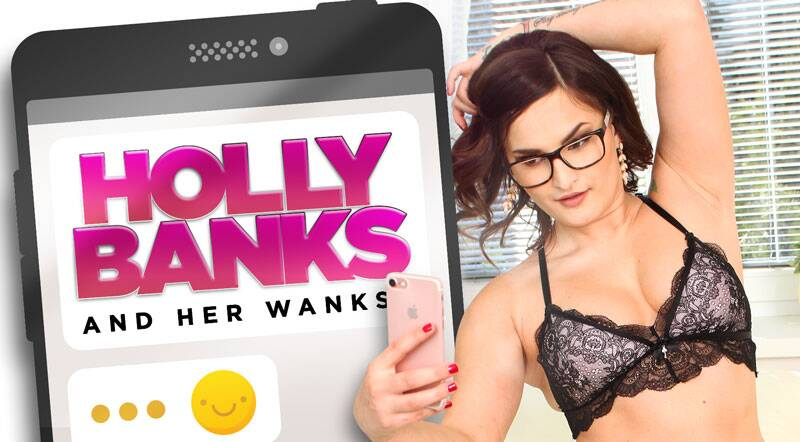 Holly Banks and her wanks feat. Holly Banks - VR Porn Video