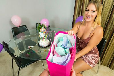 I Wanted To Surprise You On Your Birthday! - Candice Dare, Mike Mancini - VR Porn - Image 2