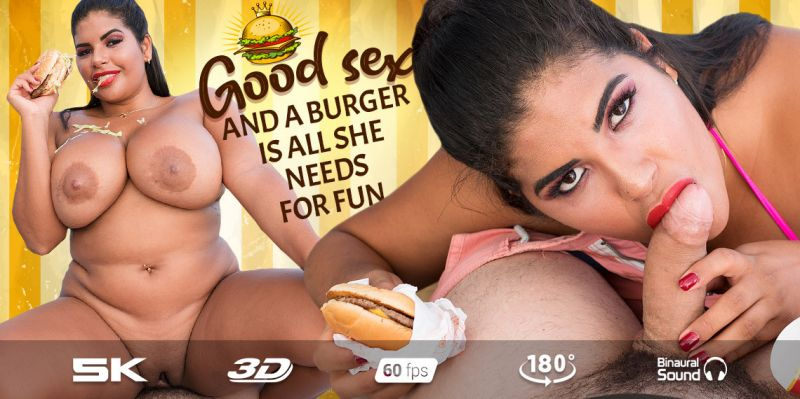 McShelia Diet feat. Sheila Ortega - VR Porn Video