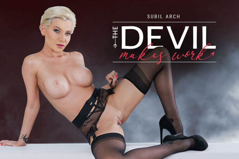 The Devil Makes Work feat. Subil Arch - VR Porn Video
