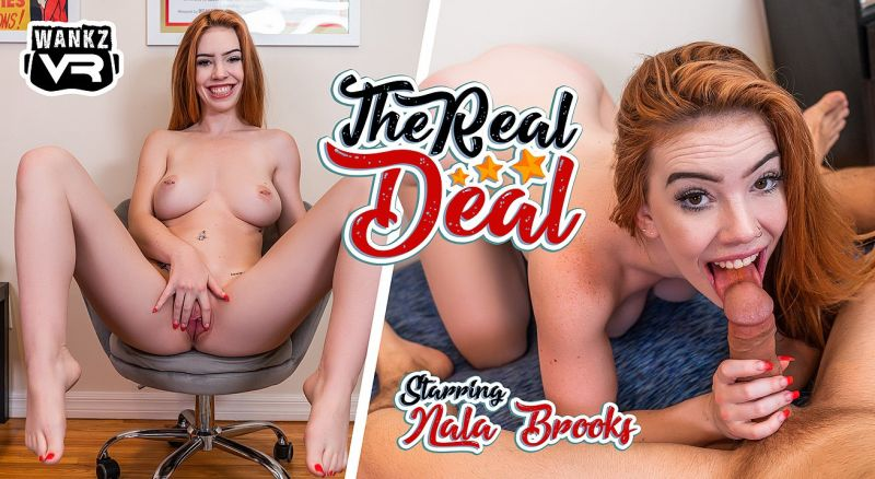 The Real Deal feat. Nala Brooks - VR Porn Video