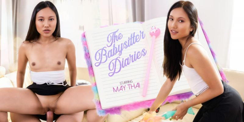 The Babysitter Diaries feat. May Thai - VR Porn Video
