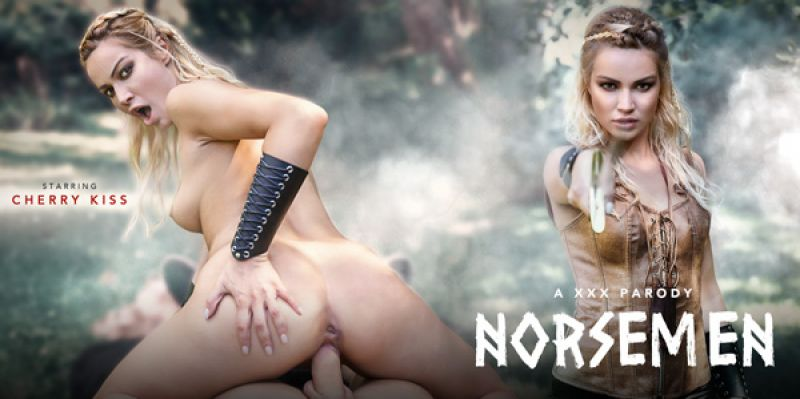 Norsemen A XXX Parody feat. Cherry Kiss - VR Porn Video