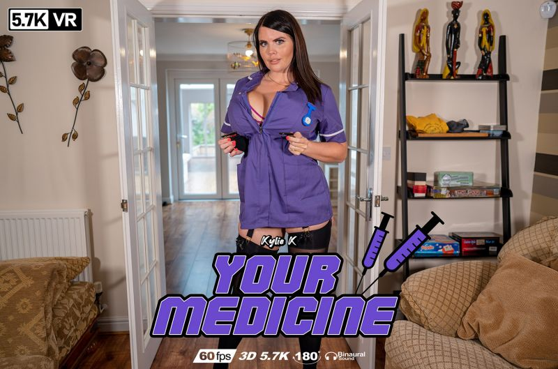 Your Medicine feat. Kylie K - VR Porn Video