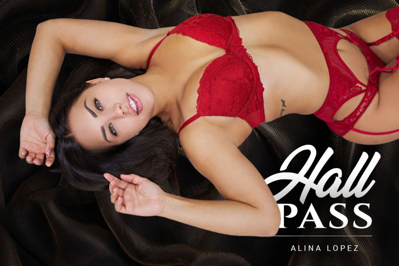 Hall Pass feat. Alina Lopez - VR Porn Video