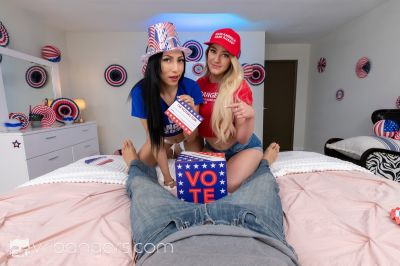 Election Day 2020 - Judy Jolie, Kenzie Madison - VR Porn - Image 2
