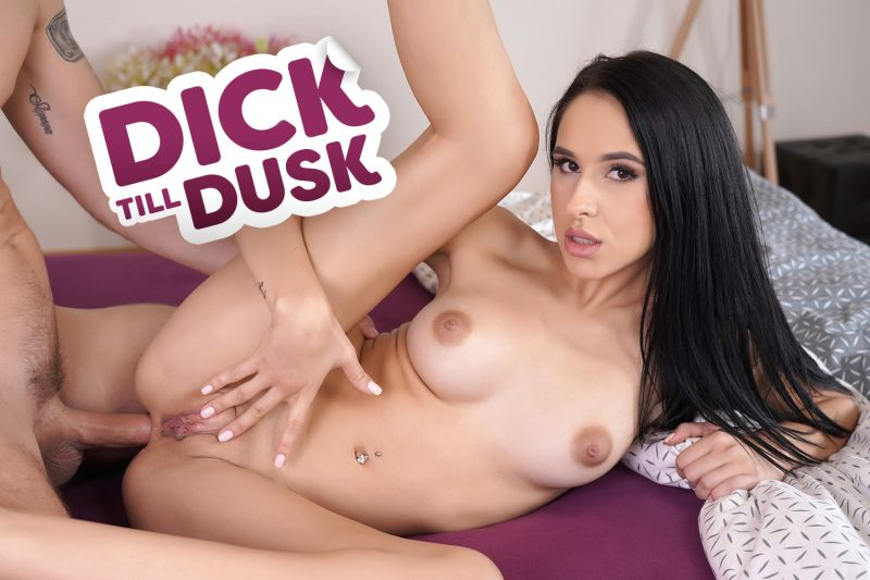 Dick till Dusk feat. Alyssa Bounty - VR Porn Video
