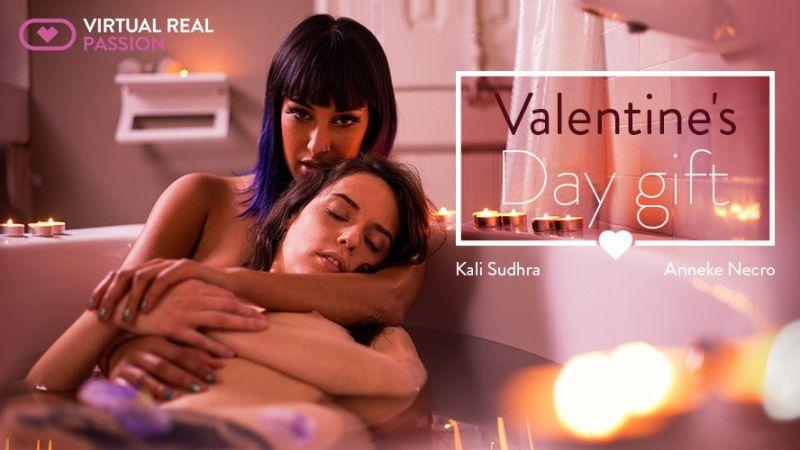 Valentine's Day Gift feat. Anneke Necro, Kali Sudhra - VR Porn Video