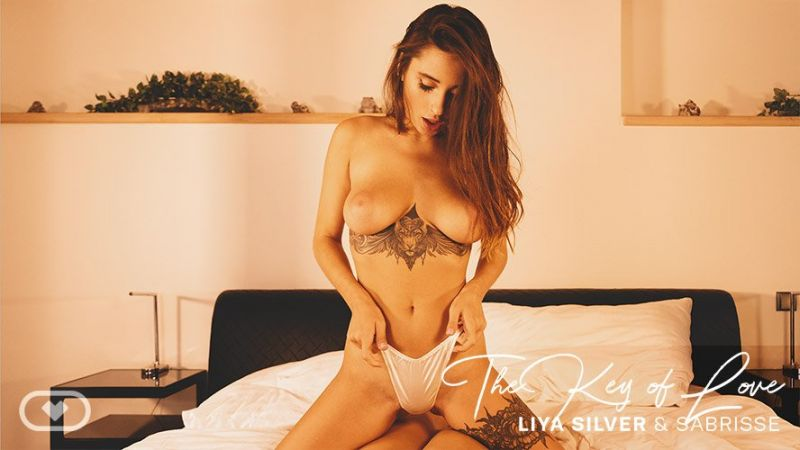 The Key of Love feat. Liya Silver, Sabrisse - VR Porn Video