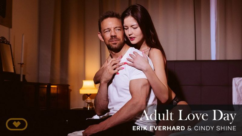 Adult Love Day feat. Cindy Shine, Erik Everhard - VR Porn Video