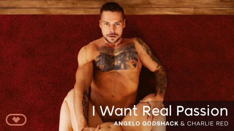 I Want Real Passion feat. Charlie Red, Angelo Godshack - VR Porn Video
