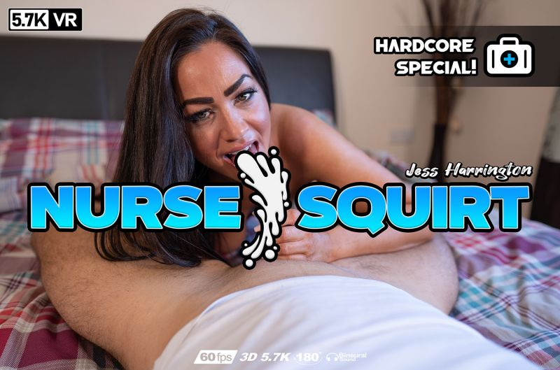 Nurse Squirt feat. Jess Harrington - VR Porn Video