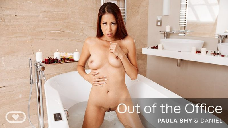 Out of the Office feat. Paula Shy - VR Porn Video