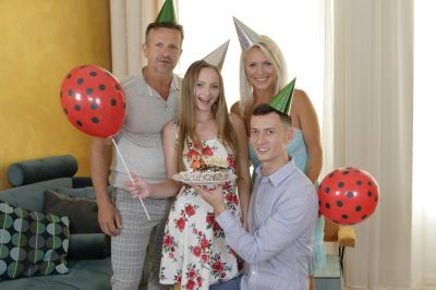 Birthday Is A Family Celebration - Kathy Anderson, Lady Bug - VR Porn - Image 1