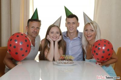 Birthday Is A Family Celebration - Kathy Anderson, Lady Bug - VR Porn - Image 2