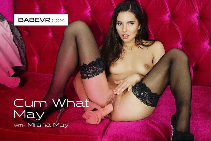 Cum What May feat. Milana Ricci - VR Porn Video