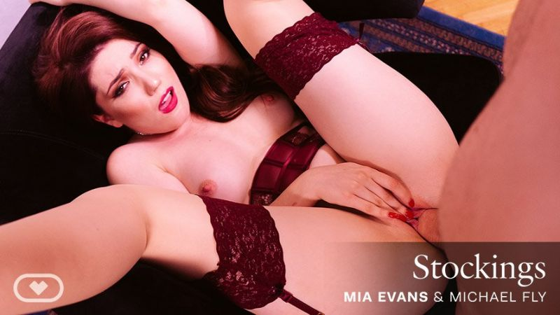 Stockings feat. Mia Evans, Michael Fly - VR Porn Video