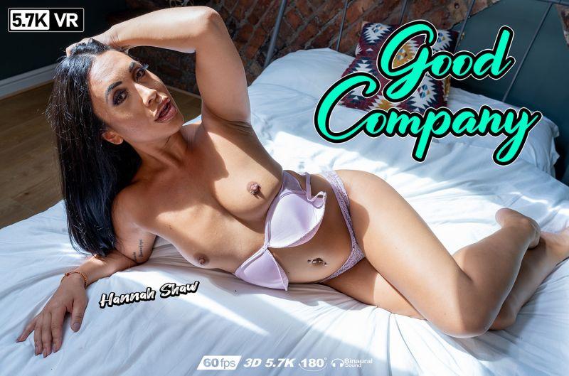 Good Company feat. Hannah Shaw - VR Porn Video