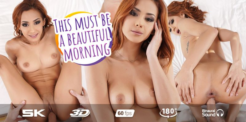 Wake Up and Enjoy Veronica Leal feat. Veronica Leal - VR Porn Video