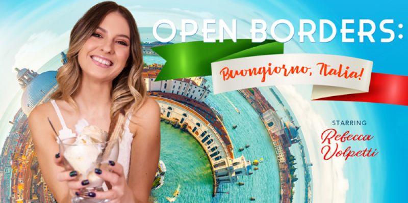 Open Borders: Buongiorno, Italia! feat. Rebecca Volpetti - VR Porn Video
