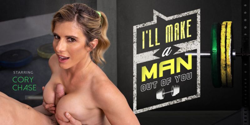 I'll Make a Man Out of You feat. Cory Chase - VR Porn Video
