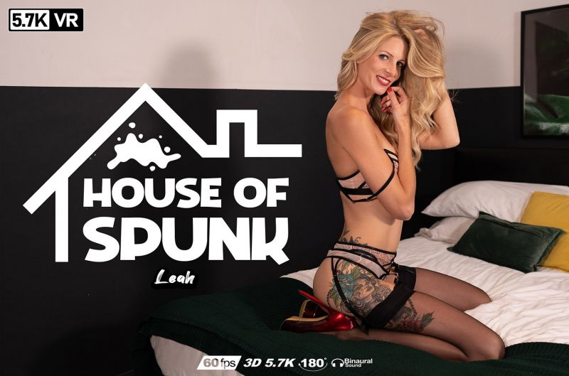 House of Spunk feat. Leah - VR Porn Video