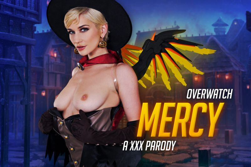 Overwatch: Mercy A XXX Parody feat. Skye Blue - VR Porn Video