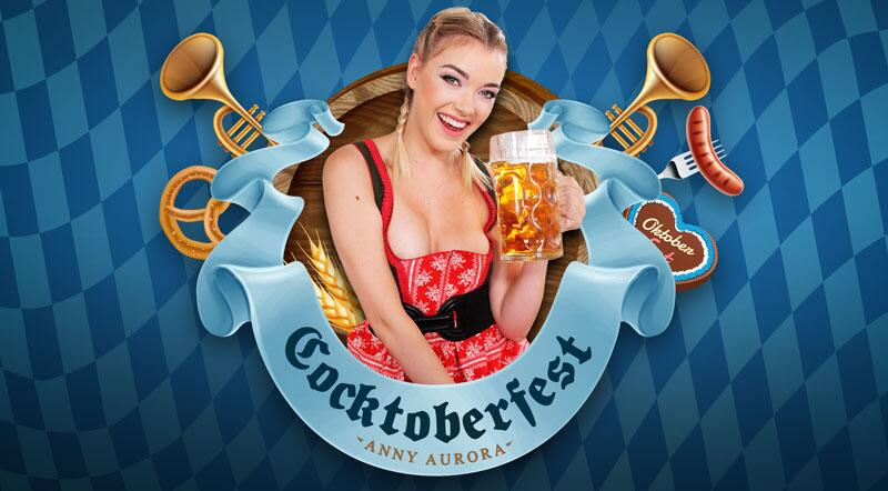 Cocktoberfest feat. Anny Aurora - VR Porn Video