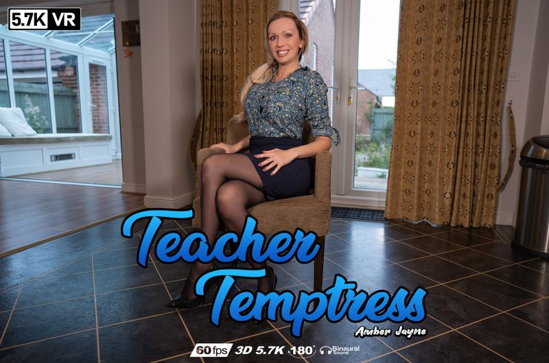 Teacher Temptress feat. Amber Jayne - VR Porn Video